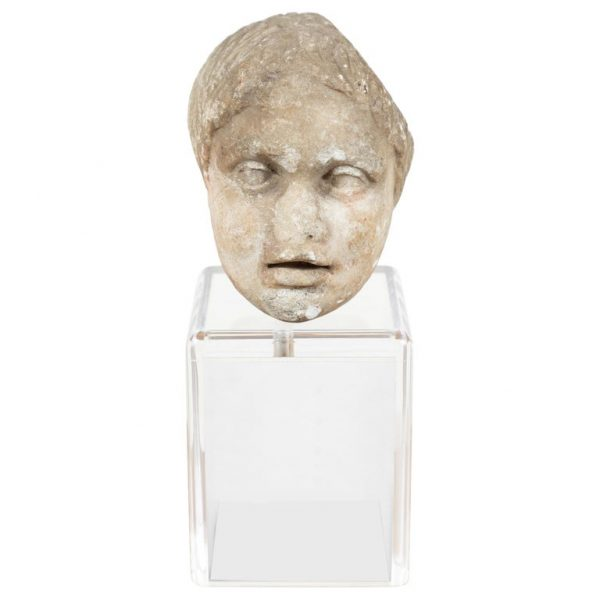 Antonios Bella Casa - Ancient, Roman Marble Bust of a Boy - art, antique sculpture, marble scuplture, ancient sculpture, roman bust, antique statue