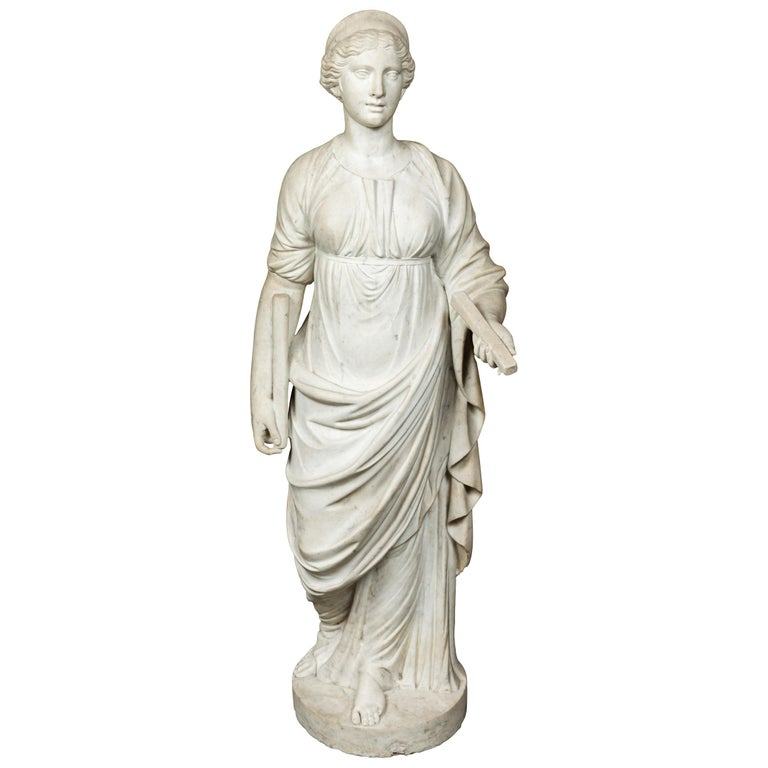 Antonios Bella Casa - Antique, Marble Sculpture of Juno - antiques, antique statues, antique sculpture, art sculptures, marble sculpture, marble statue