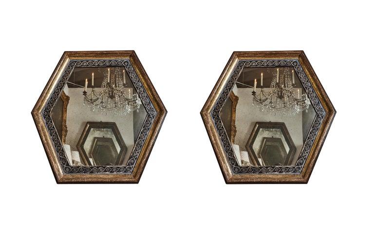 Antonios Bella Casa - Italian, Antique Wood Framed Mirrors - antique mirror, vintage mirror, italian antiques