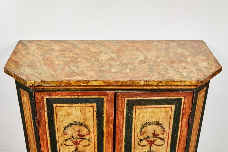 Antonios Bella Casa - Two, 18th Century, Italian, Hand Painted Cabinets - antique furniture