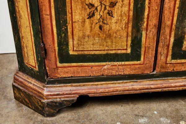 Antonios Bella Casa - Two, 18th Century, Italian, Hand Painted Cabinets - antique furniture