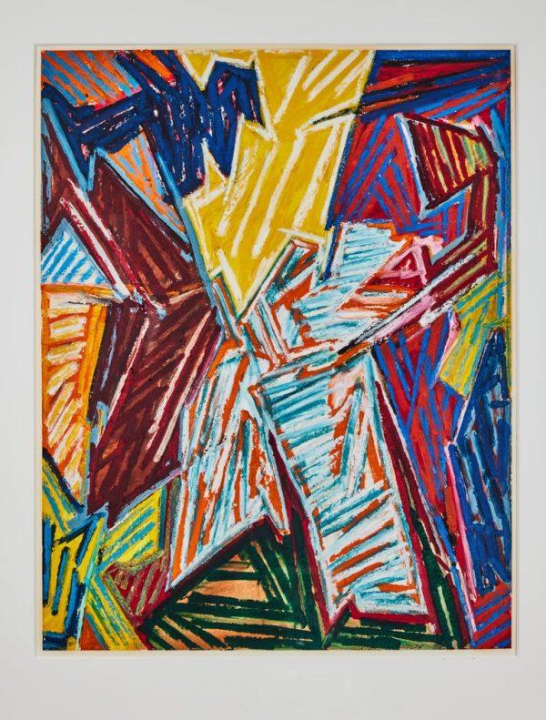 Antonios Bella Casa - Original, Chuck Arnoldi Artwork - fine art, modern art