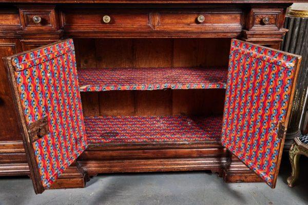 Antonios Bella Casa - Substantial, Antique Italian Buffet - antique furniture, antique buffet, antique italian furniture