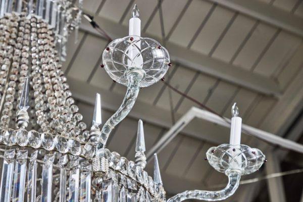 Antonios Bella Casa - Large, circa 1930, Genoa Chandelier - antique chancelier, antique lighting, vintage chandelier
