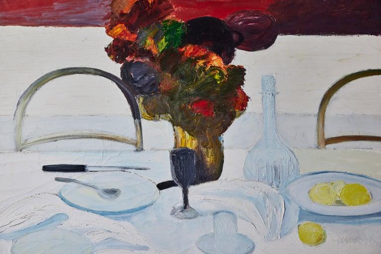 Antonios Bella Casa - Signed, Roger Muhl Still Life - art, fine art, modern art, painting, oil painting