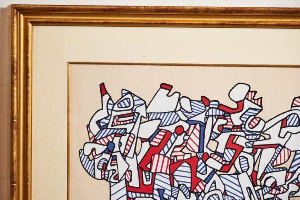 Antonios Bella Casa - 1976 Jean Dubuffet Screenprint - art, artwork, art gallery, modern art, vintage art