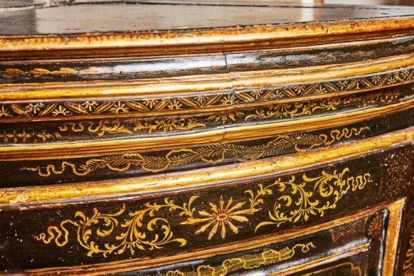 Antonios Bella Casa - 18th Century, Chinoiserie Corner Cabinets - antique furniture, vintage furniture, italian and european furniture